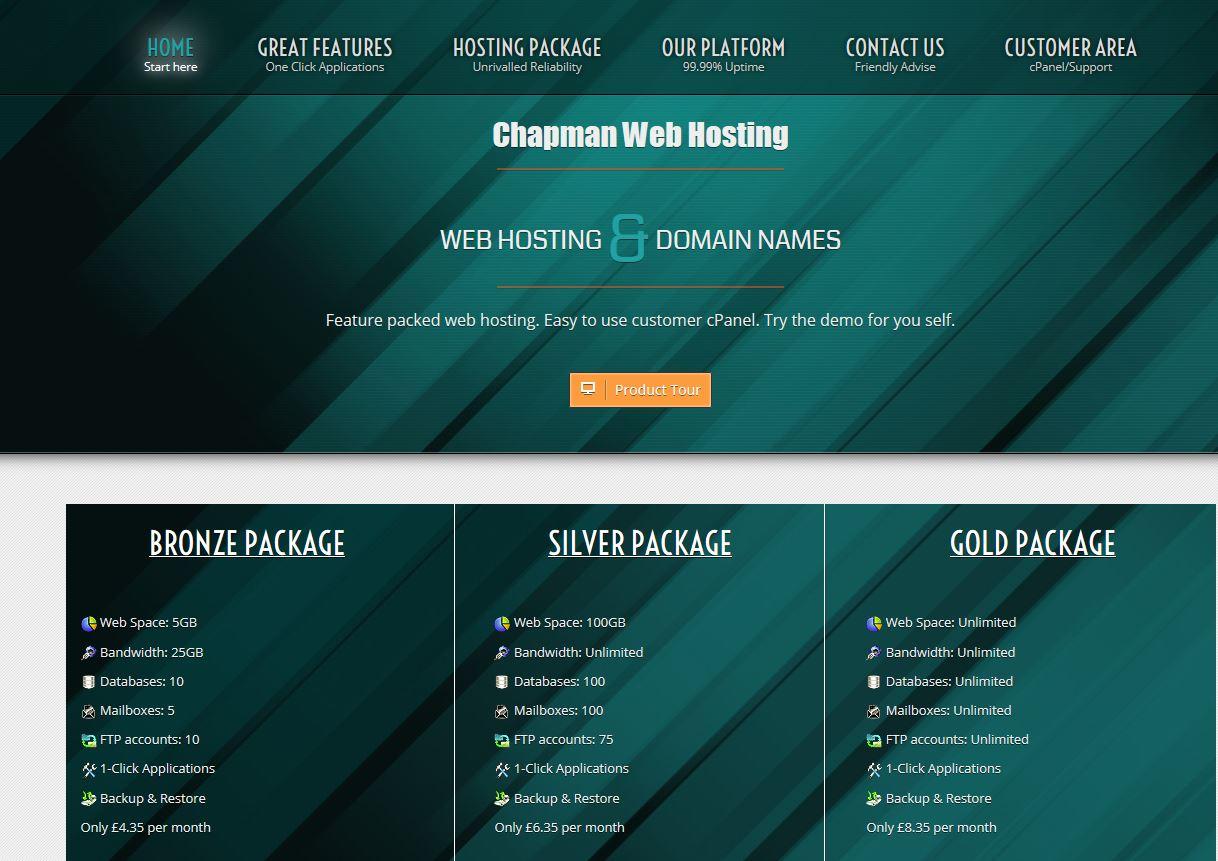 Chapman Web Hosting