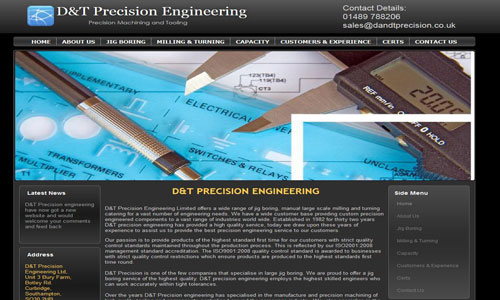 D&T Precision Engineering Limited